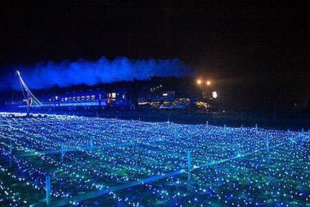 東武,SL「大樹」のイルミネーション特別運転を実施