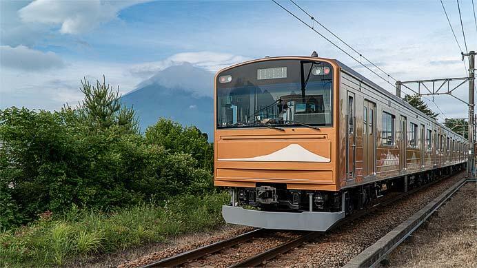 「富士急電車ふれあい月間」開催