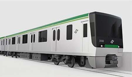 仙台市交通局,南北線新形車両「3000系」のデザイン投票を実施