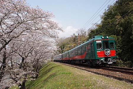 観光列車「こうや花鉄道 天空」を臨時運転