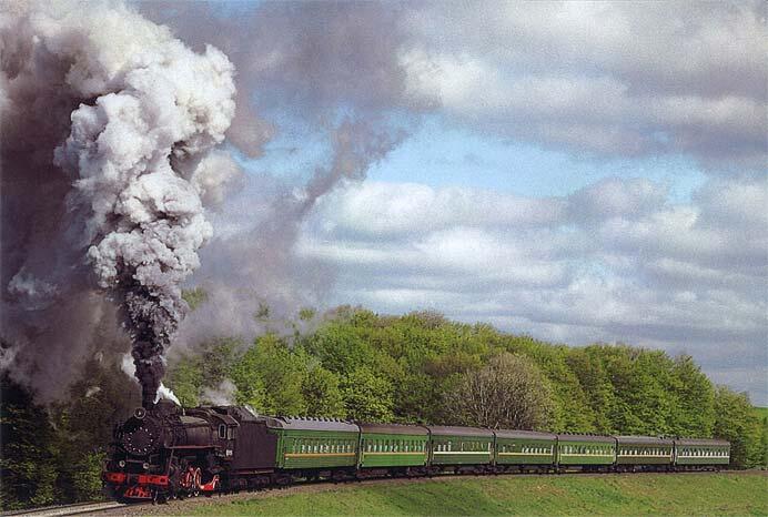 福田伸吉写真展『煙遊紀行VIII「異国の蒸機」』を開催