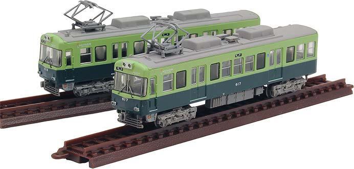 「京阪電車大津線600形4次車2両セット」