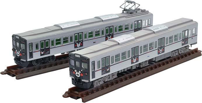 鉄コレ熊本電気鉄道6000形(くまモンラッピング)2両セット