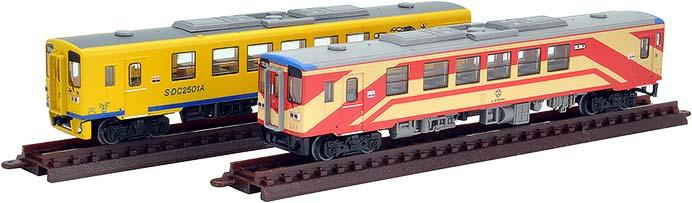 島原鉄道キハ2500形(標準塗装・復刻塗装)2両セット