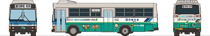 宮崎交通ヒト・ものハコぶエコロジーバス