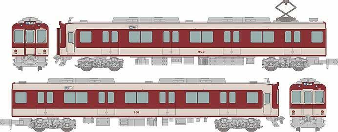 近畿日本鉄道900系(冷房車)2両セット