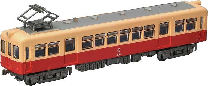 富井電鉄 17m級大型電車