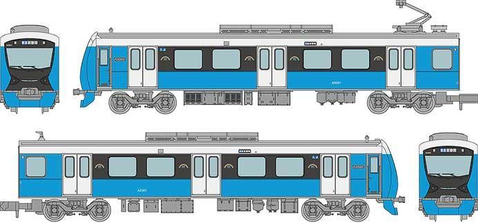 静岡鉄道A3000形