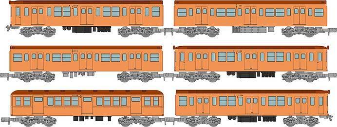 鉄道コレクション 営団地下鉄銀座線2053編成6両セット