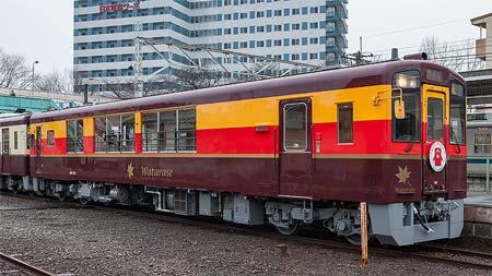 わたらせ渓谷鐵道 WKT-550形