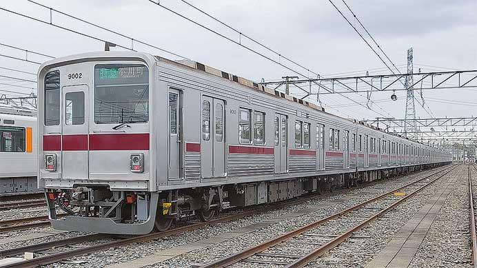 東武鉄道9000系リニューアル車