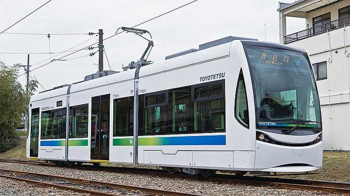 豊橋鉄道T1000形「ほっトラム」