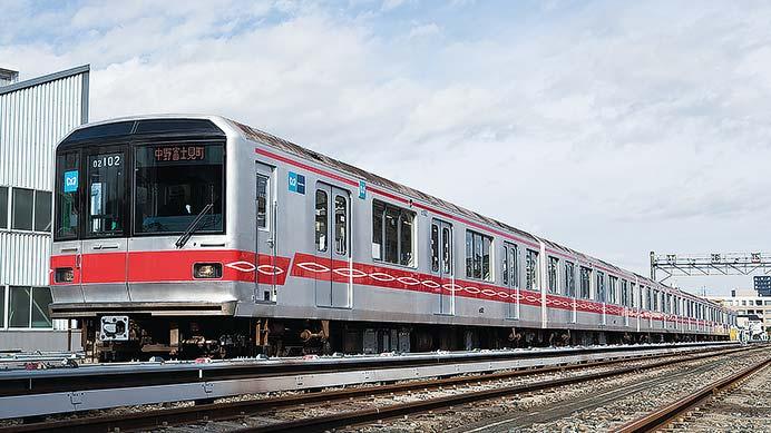 東京メトロ02系02系大規模改修車