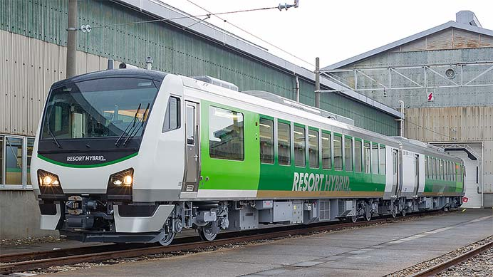 JR東日本HB-E300系「リゾートビューふるさと」
