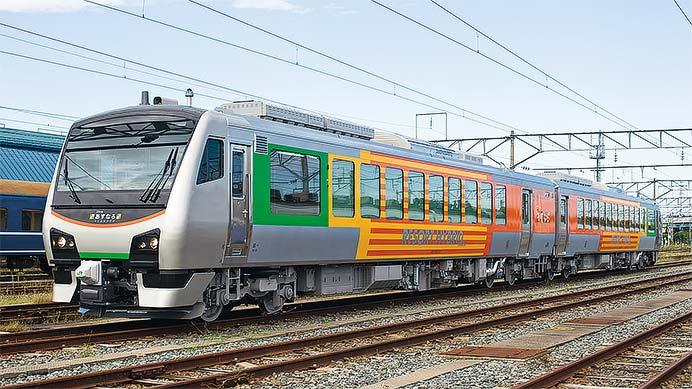 JR東日本HB-E300系「リゾートあすなろ」