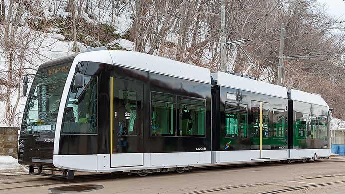 札幌市交通局 A1200形