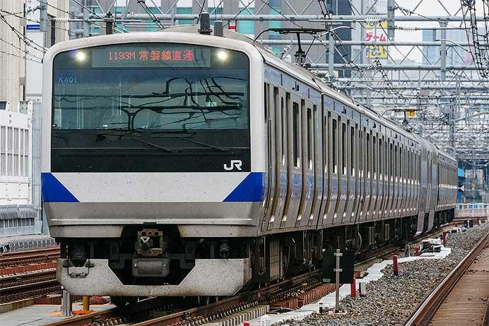 E531系上野東京ライン
