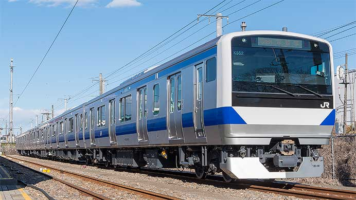JR東日本E531系3000番台