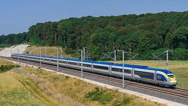 「Eurostar e320」デビュー