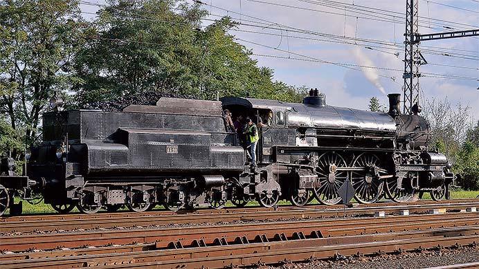 オーストリア国鉄310形蒸気機関車 走行レポート