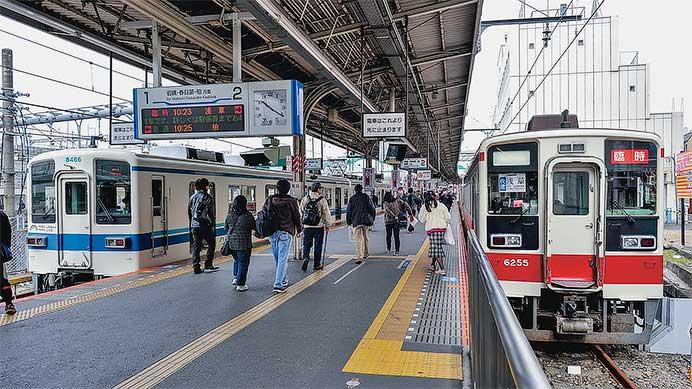 東武と西武の「臨時列車」