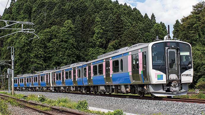 JR東日本HB-E210系 仙石東北ライン