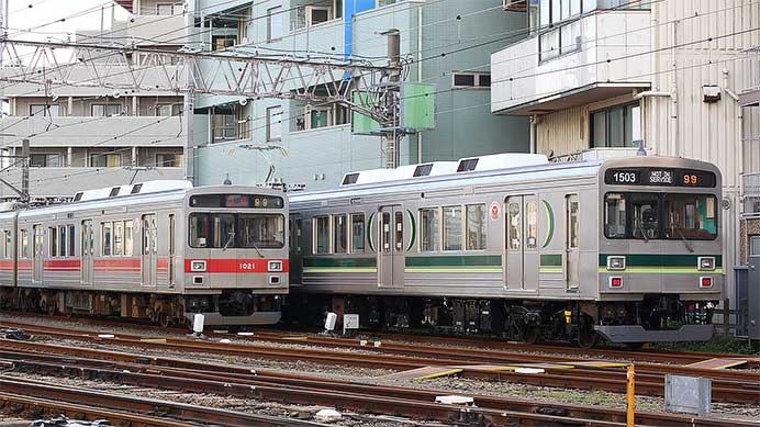 東京急行電鉄1000系の動向