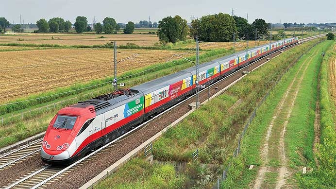 ミラノ万博と高速列車