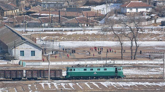 吉林省・図們国境鉄道橋