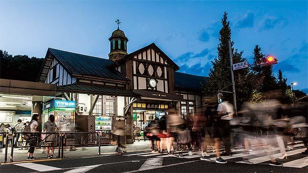 変ぼうする「原宿駅」