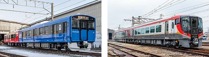JR東日本EV-E801系,JR四国2600系