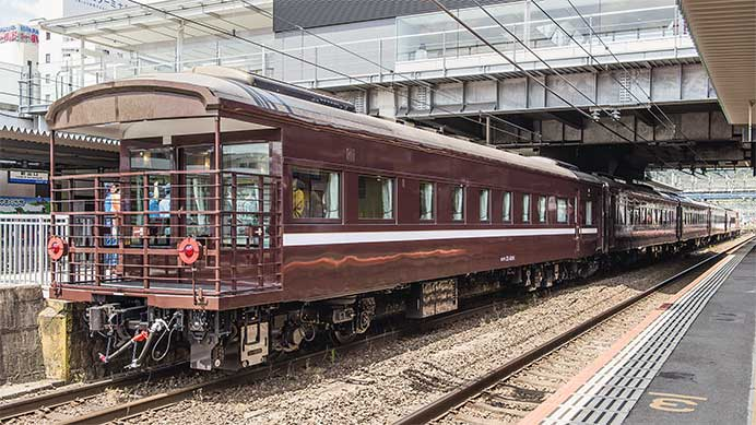 JR西日本の35系客車