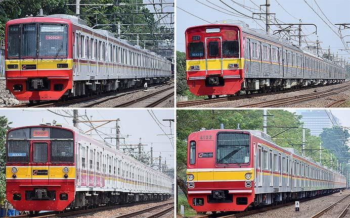 ジャカルタ 東京地下鉄関連の車両