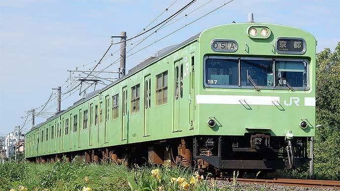 JR西日本 複線化工事が進む奈良線