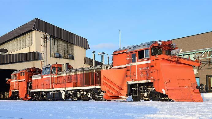 宗谷本線DE15定期排雪列車