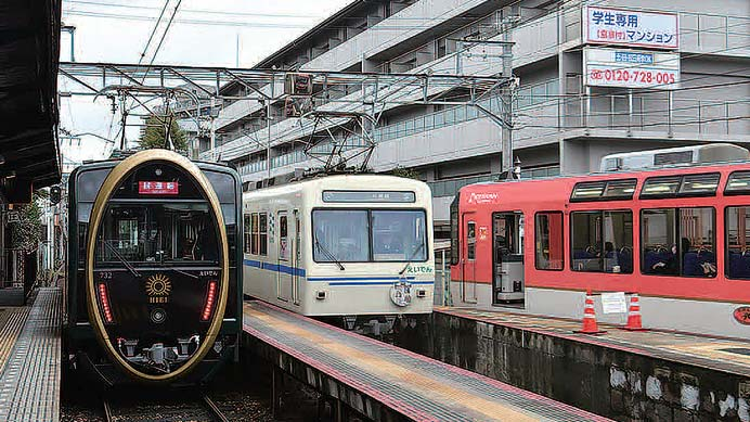 叡山電鉄デオ730形「ひえい」