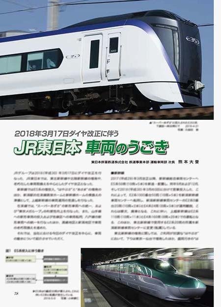 JR東日本 車両のうごき