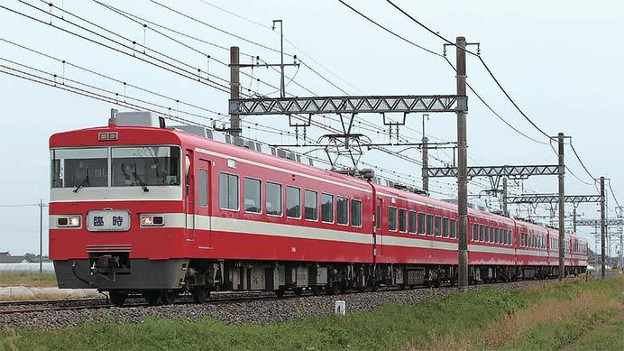 東武鉄道1800系1819編成 引退
