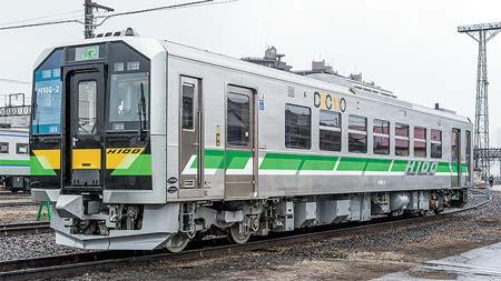 新車ガイドJR北海道 H100形電気式気動車