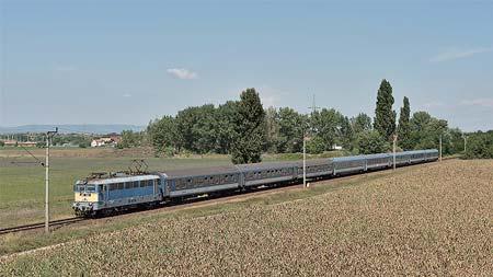 ヨーロッパ鉄道ア・ラ・カルトウィーン発ブダペスト経由の国際列車