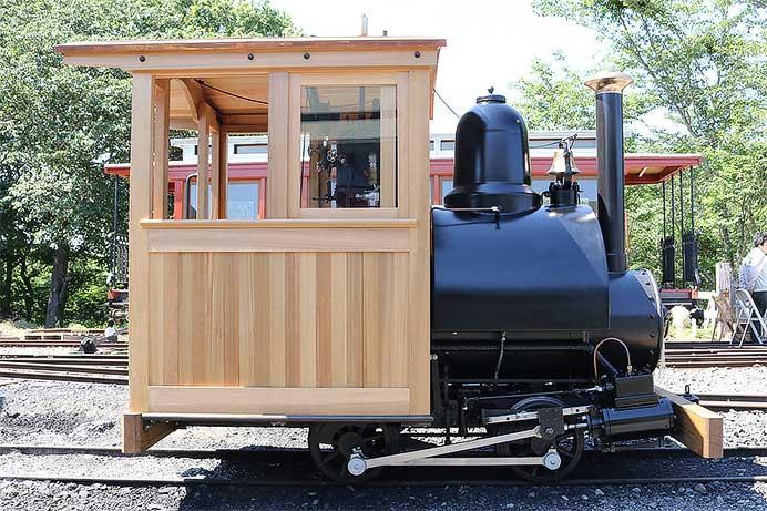 羅須地人鉄道協会 小形蒸気機関車 完成