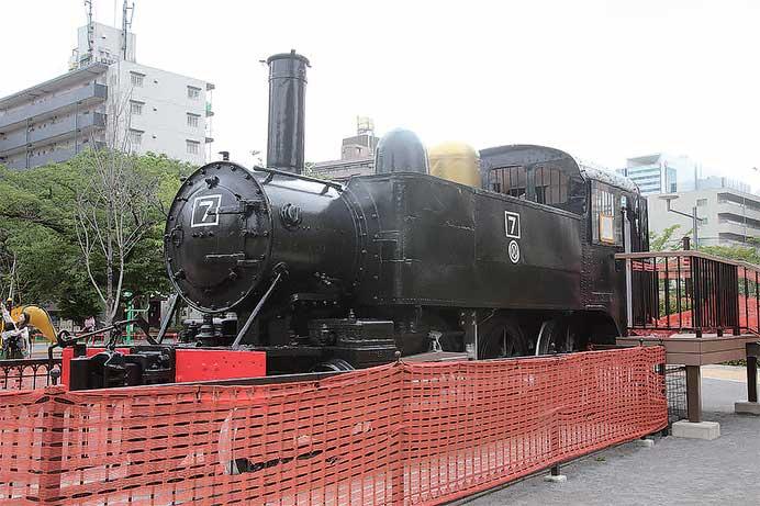 宮田名誉編集長と訪ねる静態保存機関車