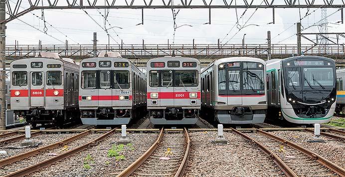 東京急行電鉄田園都市線用車両ガイド