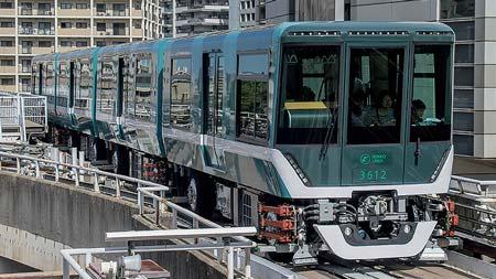鉄道ファン 乗車インプレッション神戸新交通3000形