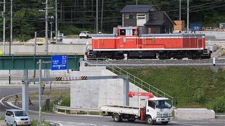 JR東日本→三陸鉄道へ 山田線・宮古~釜石間~鉄道復旧工事の進ちょく状況~