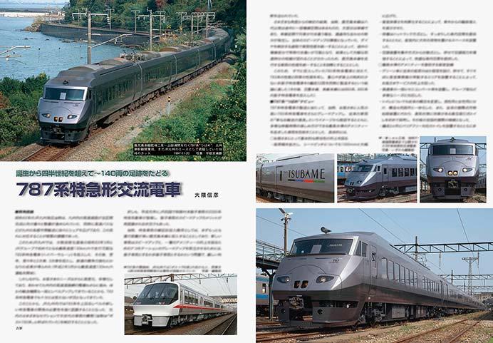 787系特急形交流電車