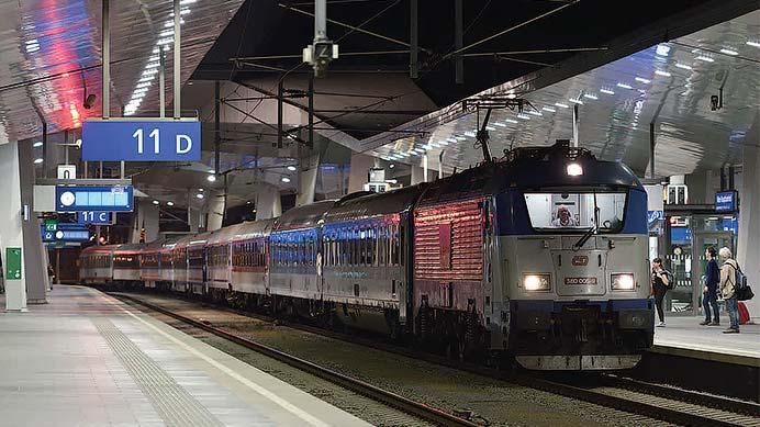 中央ヨーロッパの基幹夜行列車 後編