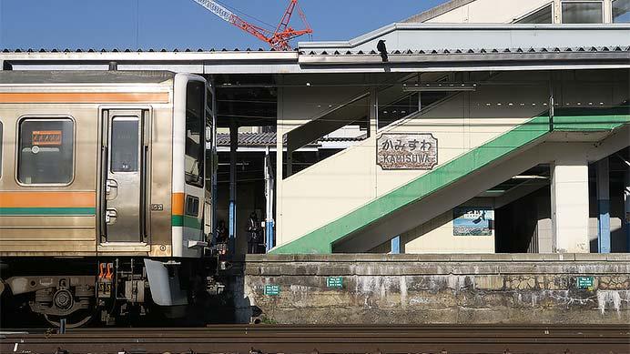 上諏訪駅 駅名標コレクション