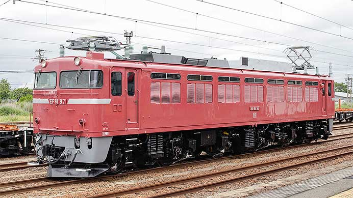 JR東日本のEF81形