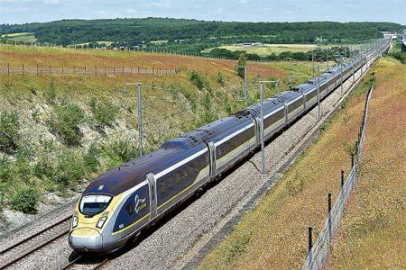 ヨーロッパ鉄道ア・ラ・カルト 「ユーロスター」と「八十日間世界一周」